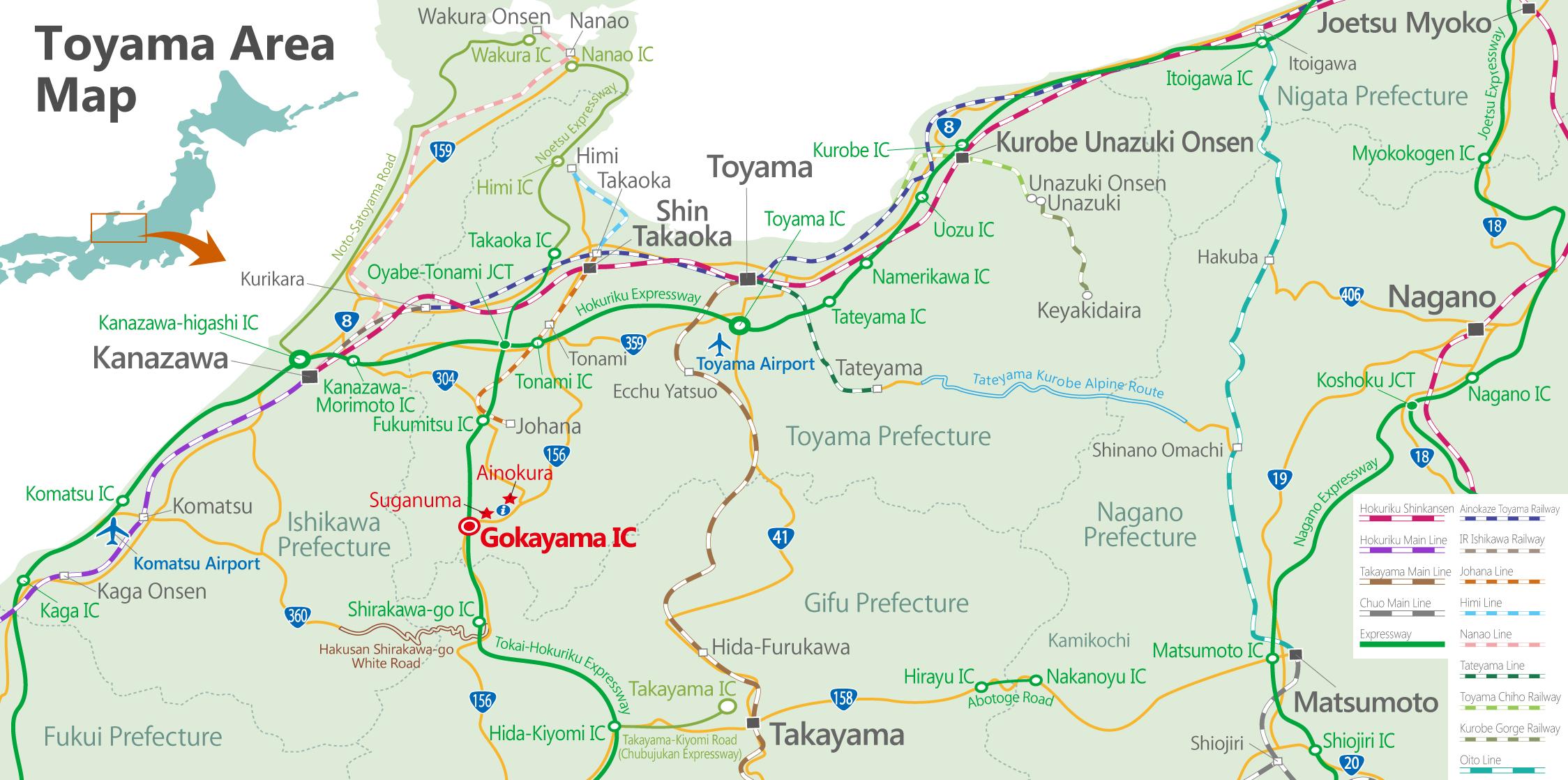GOKAYAMA SAISAIGOKAYAMA Official Travel Guide